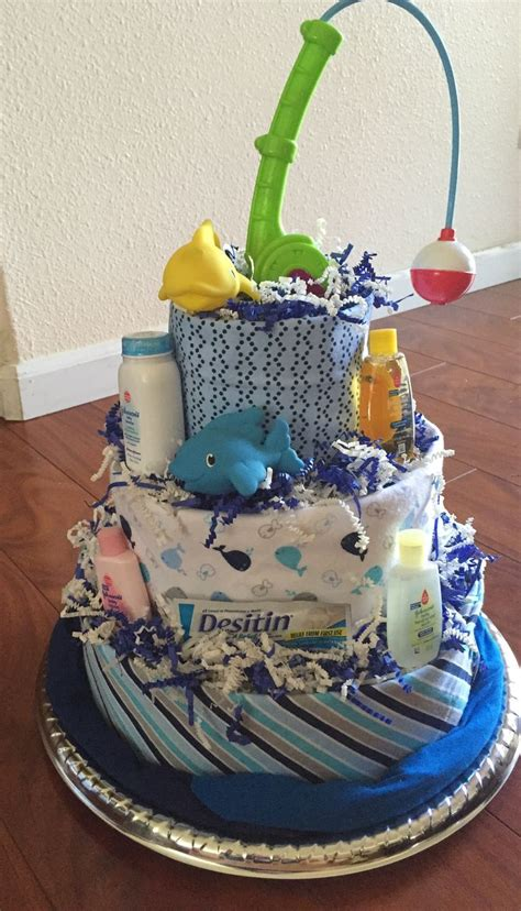 boat steering wheel diaper cake fishing themed diaper cake projects i ve tried