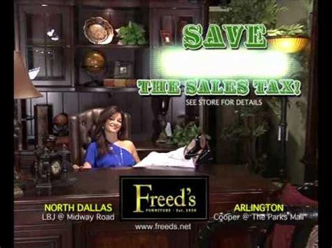 freeds furniture year  sale youtube