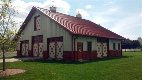 How To Build A Barn Style Roof by Metal Buildings Made Into Homes Home Decor