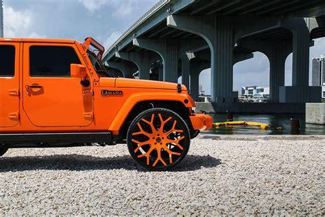 jeep wrangler orange 2017 mc customs jeep wrangler is 50 shades of orange