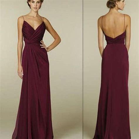 best 25 burgundy bridesmaid dresses ideas on pinterest