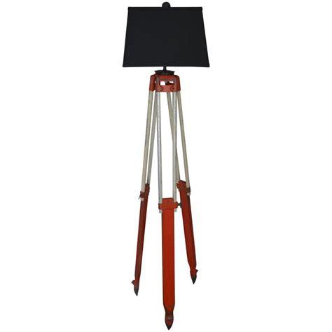 adjustable tripod floor l floor l from adjustable surveyor s tripod of wood and
