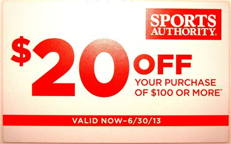Sports Giveaways Coupon Code - 20 off sports authority coupon i love my kids blog