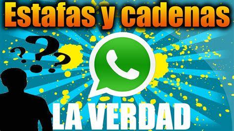 cadenas whatsapp de dios las estafas y cadenas de whatsapp la verdad youtube