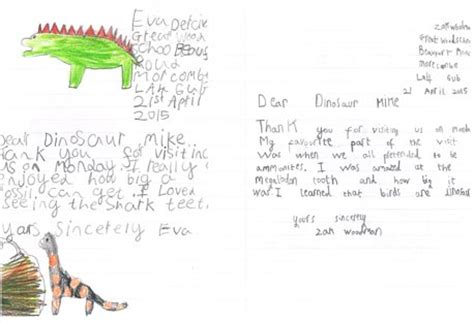 Thank You Letter Key Stage 1 Image Gallery Letters Year 1