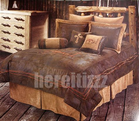 cowboy bedding sets cowboy branded western bedding set