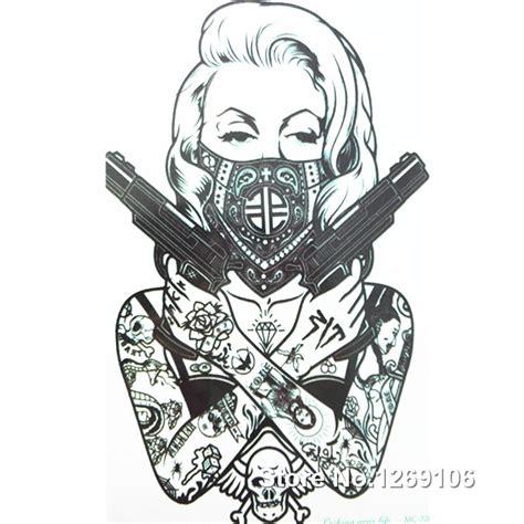 aliexpress tattoo aliexpress com buy 2016 new design cool tattoo girl with