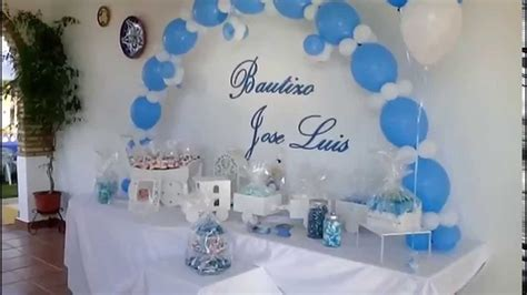 decoraci 243 n con adornos de mesa para bautizo sencillos primera