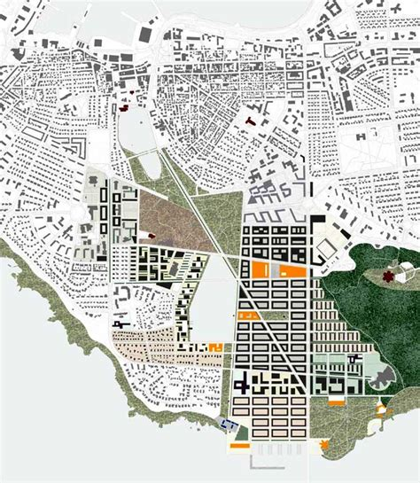 maps the architectural plan as a map drawings by enric miralles the funambulist magazine vatnsm 253 ri urban plan competition iceland building e