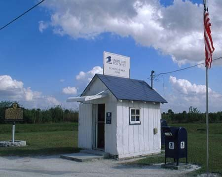 ochopee post office everglades florida