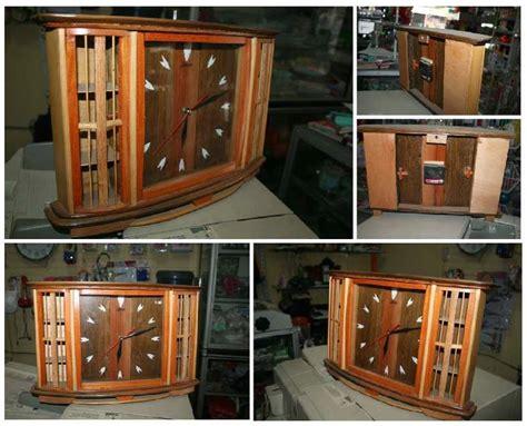 membuat jam dinding kayu kreasi unik jam dinding dari kayu aneka kreasi