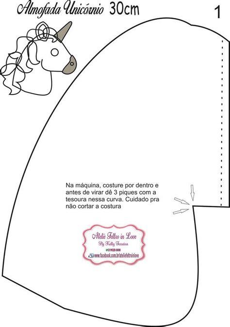 almohadas de unicornio unicornio almohada coj 237 n con moldes moldes para hacer una