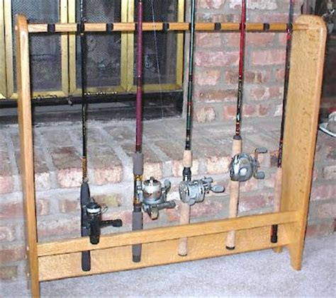 how to make a fishing rod rack how to make a fishing rod rack