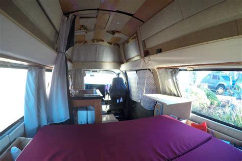 van living gypsy my super awesome cer van conversion defying normal