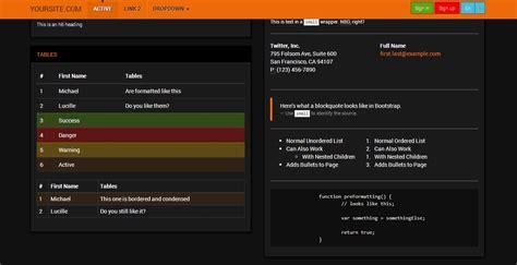 bootstrap themes orange snapshot2 o jpg 1388408085