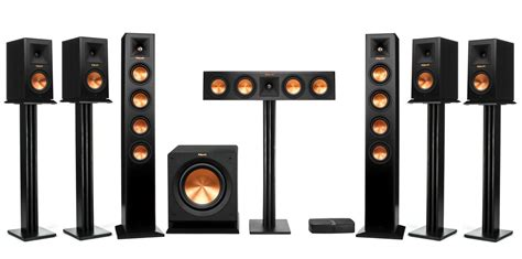 klipsch rp hd wireless 7 1 home theater system ebay