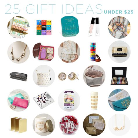 25 Dollar Gift Ideas | gift guide 25 bridesmaids gift ideas under 25 the
