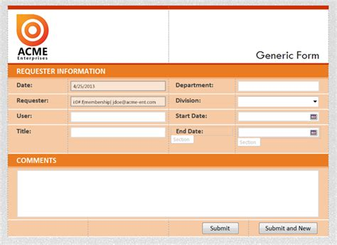 Office 365 Infopath Forms Display Email As Username Infopath Designer 2013 Templates