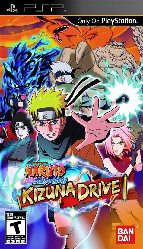 download free psp themes naruto psp themes again naruto shippuden kizuna drive psp iso download