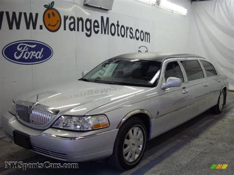 2003 lincoln town car light covers 2003 lincoln town car limousine in silver birch metallic