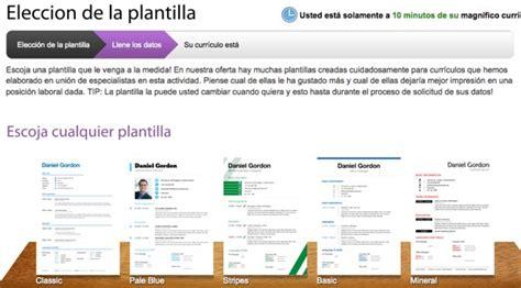 Plantilla Curriculum Vitae Bloc De Notas Resumesimo Crear Un Cv Gratis Con Excelentes Dise 241 Os
