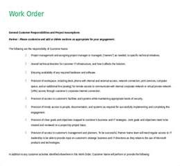 microsoft work order template 11 microsoft word 2010 free order templates