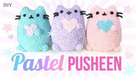 sock cat how to make diy pusheen cat plush make adorable budget plushies