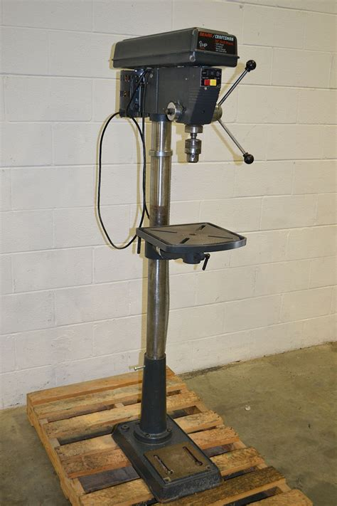 H L Hl8816hd Drill Press by Sears Craftsman 113 213150 15 Quot Floor Model Drill Press
