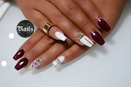 deco ongle a coller ongle en gel deco strass