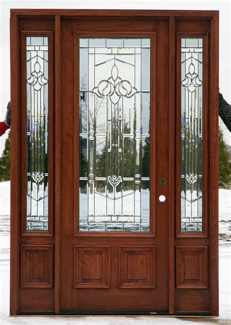 Exterior Door Sidelights Entry Doors With Sidelights
