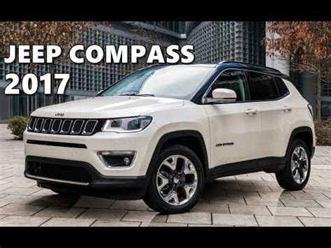 jeep compass 2017 roof 2017 jeep compass eu spec exterior interior test drive