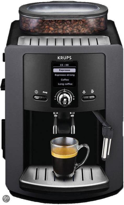krups volautomatische koffiemachine bol krups espresso automatic ea802b volautomatische