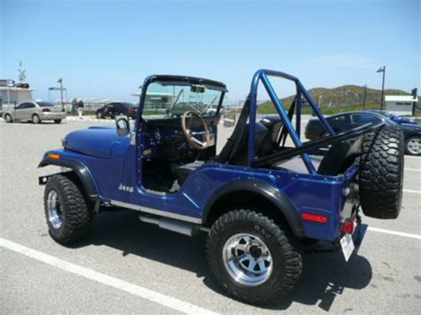 Jeep 31 Tires Purchase Used 1975 Jeep Cj5 304 V8 Lifted W 31 Quot Tires