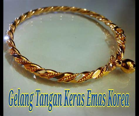 Sale Gelang Fashion Klabang gelang tangan emas korea 16 end 10 15 2017 2 15 pm