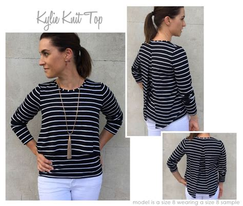 Keylie Top by Knit Top Style Arc