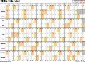 Free Downloadable 2015 Calendar Template by Excel Calendar Template 2015 Eskindria