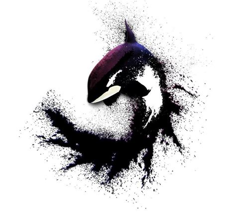 orca tattoos killer whale i d like to see a turtle like this