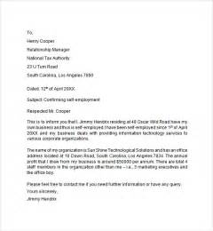 cpa self employment verification letter sle cover