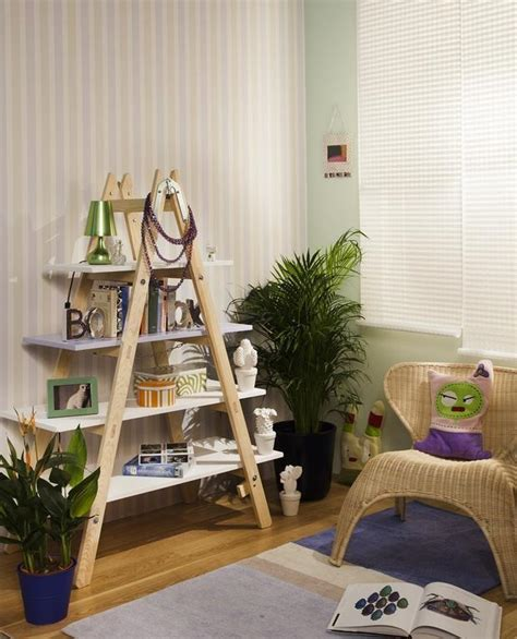 diy livingroom decor diy ladder shelf ideas easy ways to reuse an ladder