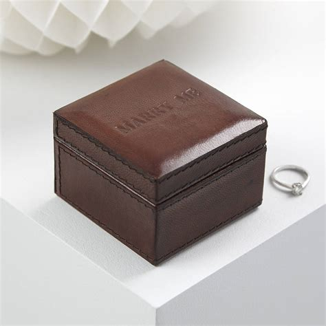 Wedding Ring Box Design by Leather Wedding Ring Box By Of