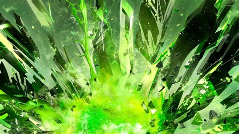 wallpaper crystal green green crystal shards wallpaper 3d wallpapers 29944