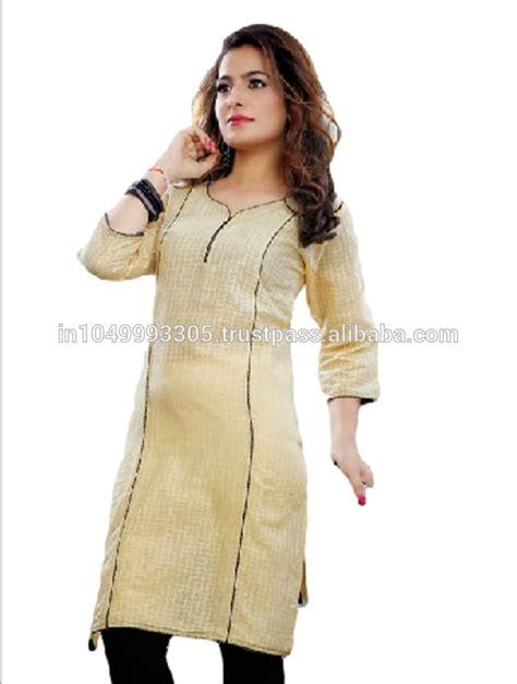 black and white kurti patterns exclusive handmade indian cotton plain kurti kurta regular