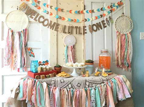 Baby Welcome Home Decoration Welcome One Banner For Baby Shower Boho Modern Baby