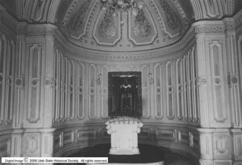 Manti Temple Sealing Room by Obsessive Temple Architecture Manti Utah