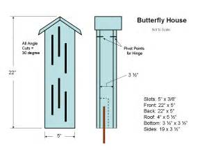 Building A House Plans Butterfly House Plans Http Crafting Squidoo Garden
