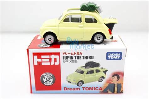 Promo Tomica Lupin The Third Tomica Takara Tomi Fiat 500 Lupin The Third Nuevo 1 64
