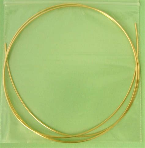 beading wire 2ft 18 14k gold filled beading wire bright shinny