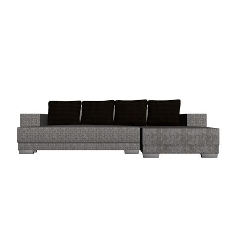 l form couch mit strukturstoffbezug einrichten planen