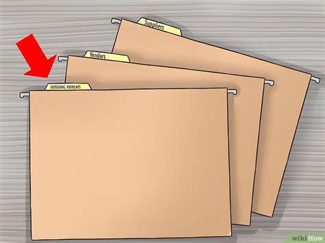 archivo de oficina 3 formas de organizar archivos de oficina wikihow