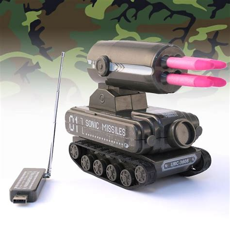 nerf remote control tank usb r c tank missile launcher gives you the ultimate